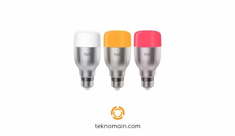 Xiaomi Yeelight YLDP02YL E27 RGBW Akıllı LED Ampul